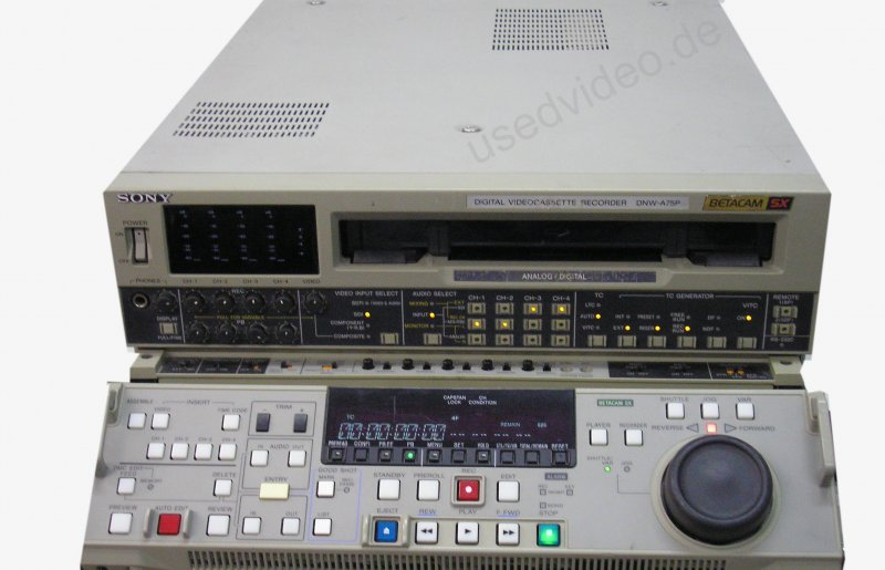 BETCAM-SX DNW-A75P Recorder/Player with SP Playback