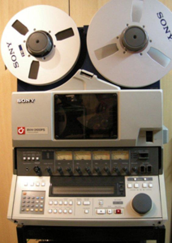 Videodigitalisierung aller prof. Formate