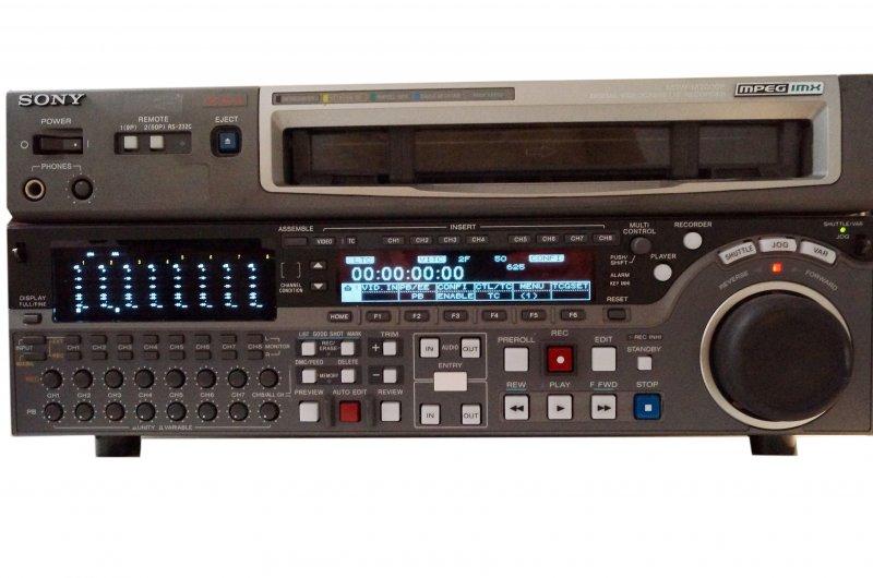 MSW-M2000P IMX Rec, Multiformat Play