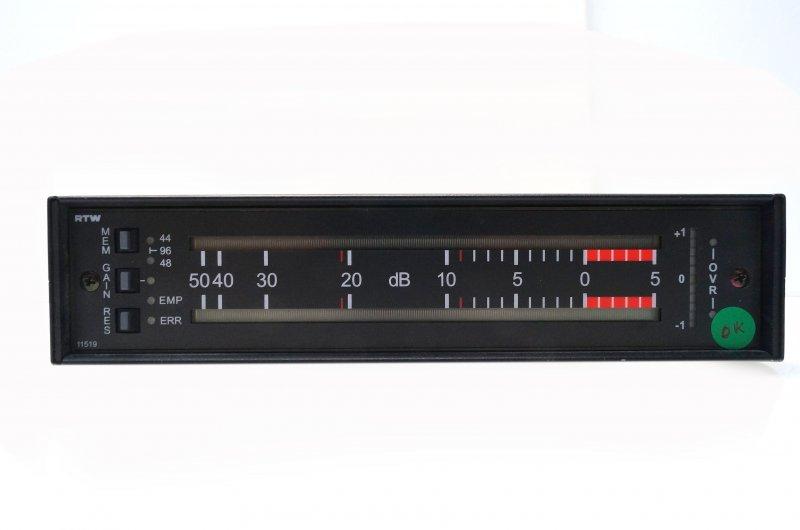 RTW 10220 AES/EBU Peakmeter